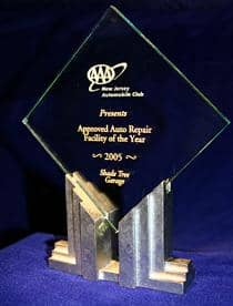 AAA approved auto repair facility of the year.